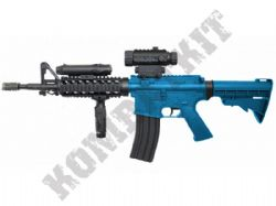 D92H M4 RIS Tactical Replica Electric Airsoft Rifle BB Machine Gun Black & 2 Tone